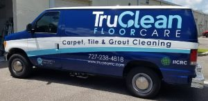 Fort Leavenworth Vinyl Printing Vehicle Wrap Tru Clean 300x146