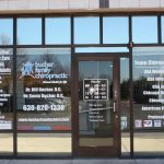 Fort Leavenworth Window Graphics Copy of Chiropractic Office Window Decals 150x150